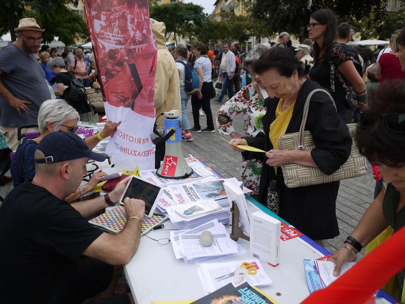 Nice 21 sept: La marche pour le climat en images