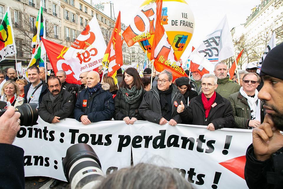 24 janvier la mobilisation continue