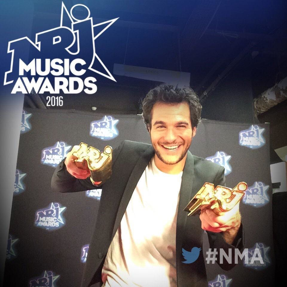 Amir - NRJ Awards 2016