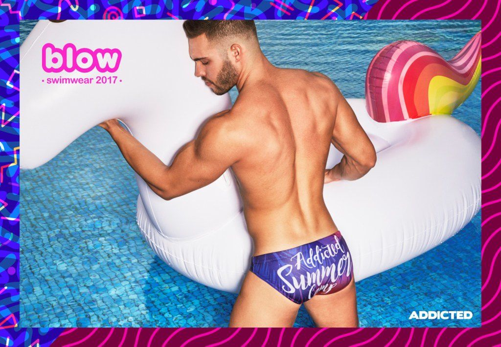 "ADDICTED : collection Swimwear 2017 ""Blow""."