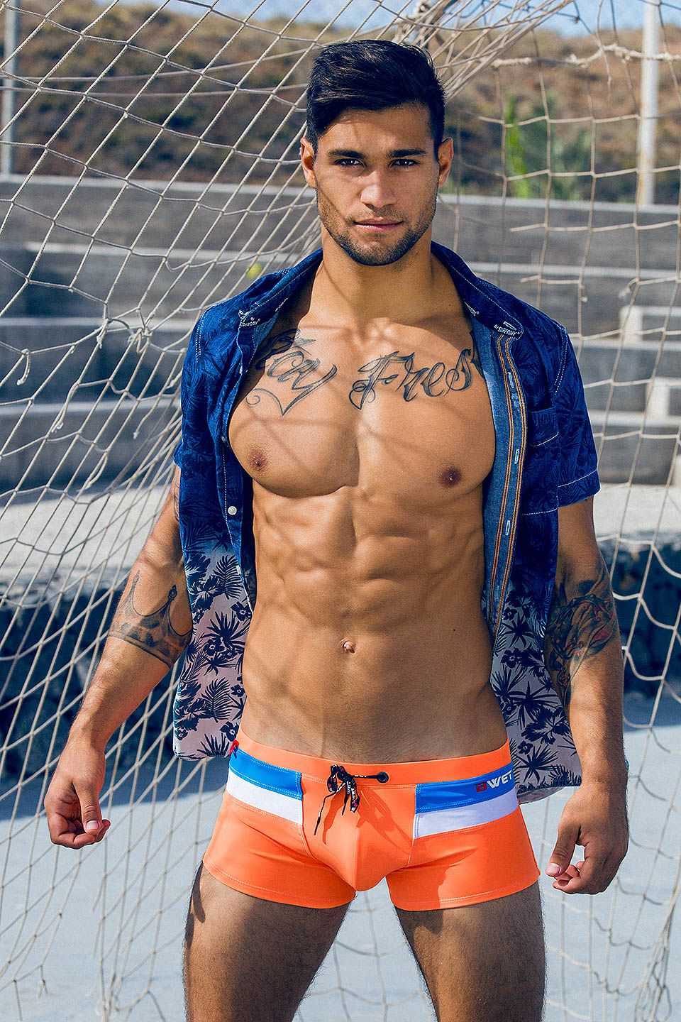 Sami H. by Adrián C. Martín - BWET Swimwear ..more