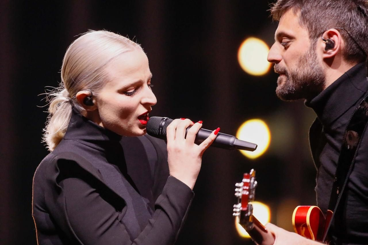 Madame Monsieur - Mercy - First Rehearsal - France - Eurovision 2018