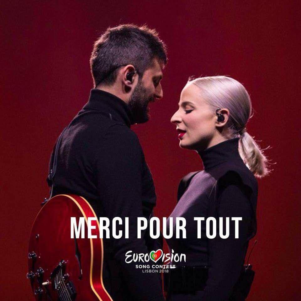 Madame Monsieur - Mercy - France - LIVE - Grand Final - Eurovision 2018