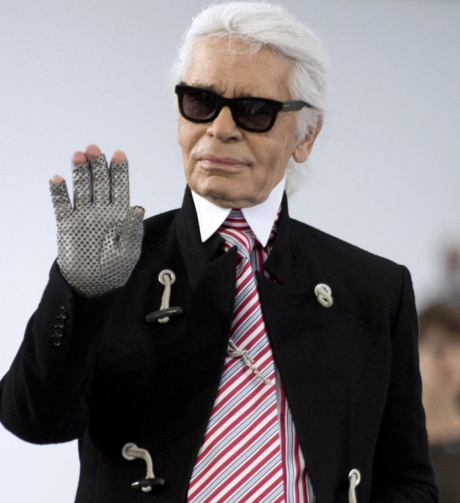 Karl Lagerfeld...a rejoint Coco Chanel ...