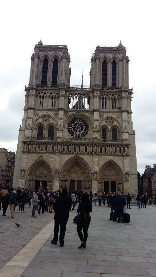 Notre Dame de Paris - un symbole qui part en fumée !