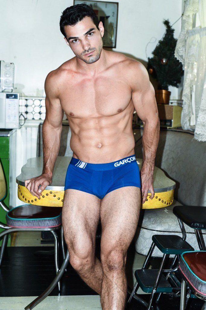 Austin Santee par Jason Myles pour Garcon Model !