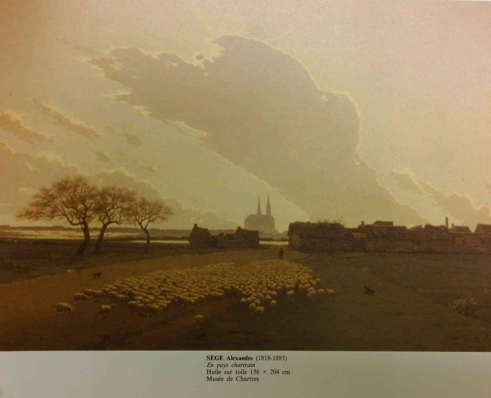 Peinture d'A. Sege vs Ciel maritime Battlefield