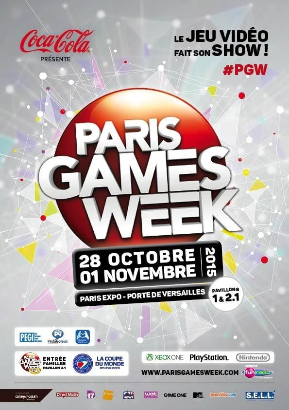 Quoi ? La Paris Games Week ? Maybe....
