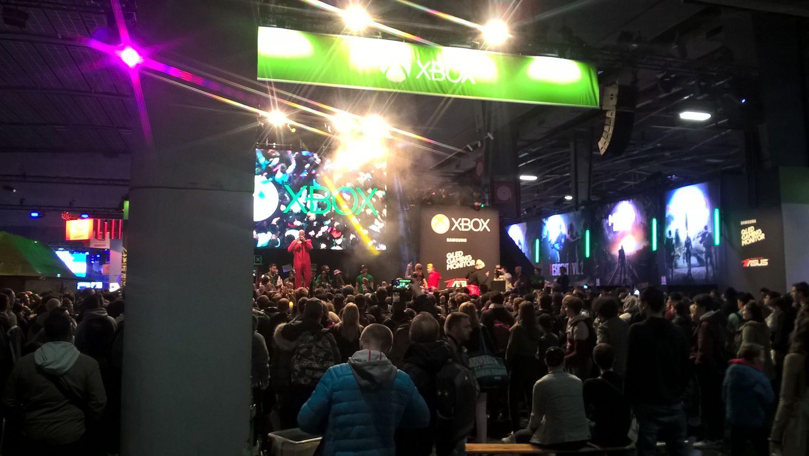 Quoi ? Paris Games Week ? Un concert et une XboxFanFest ? Boh ouais !?