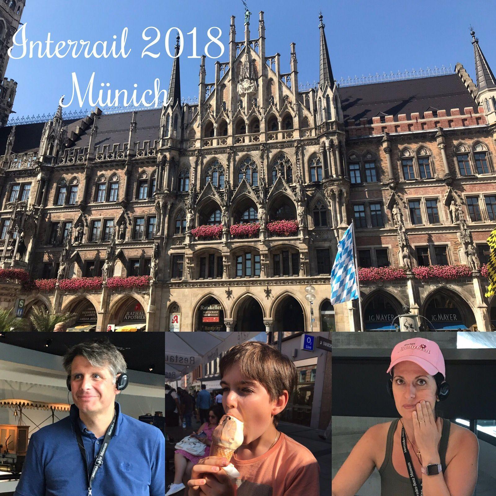 Nos vacances familiales en Interrail