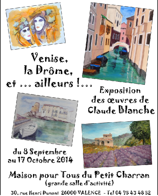 Claude Blanche expose