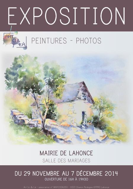 Art ici et là expose à Lahonce (64)
