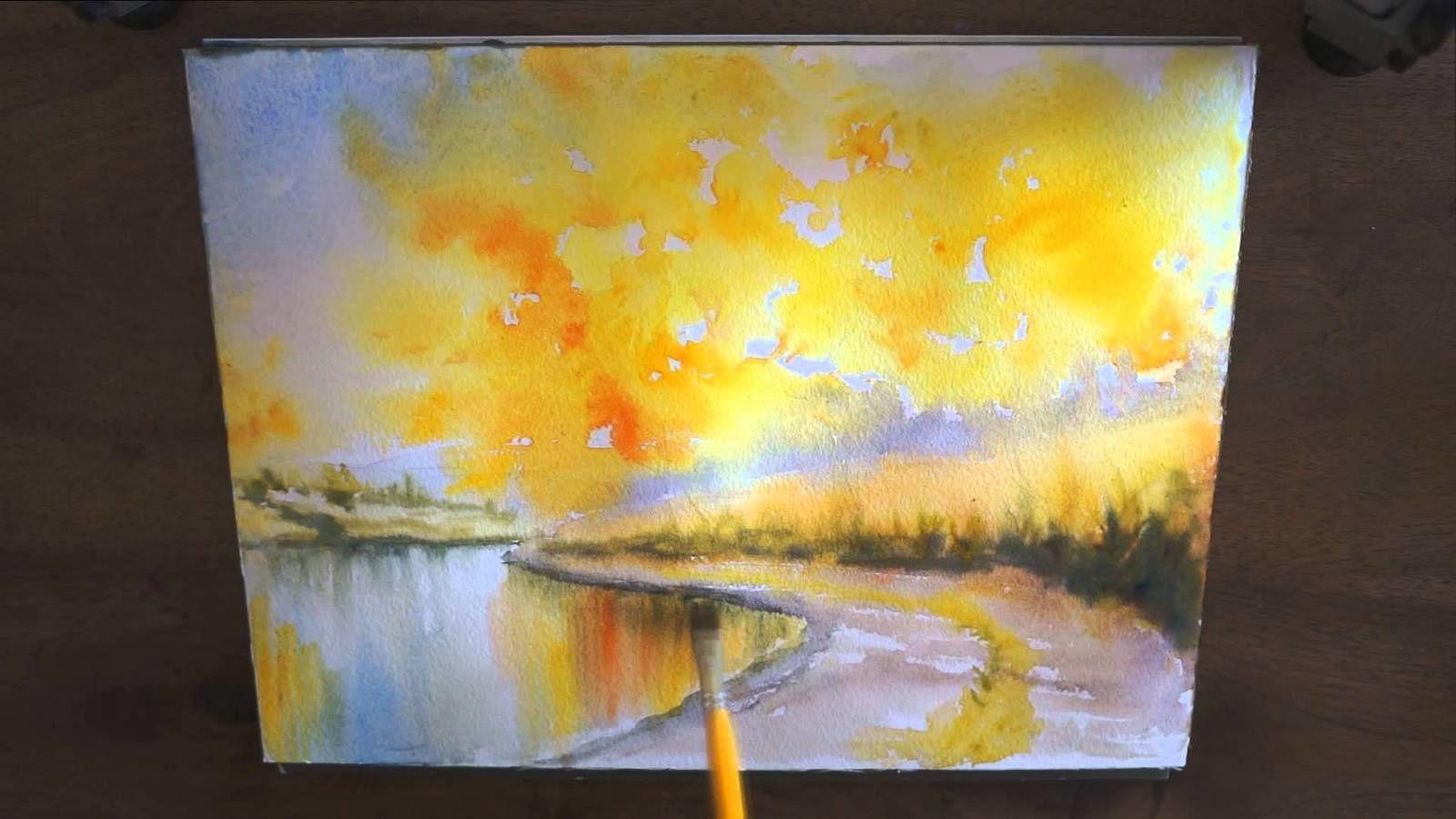 aquarelle j williet en cours