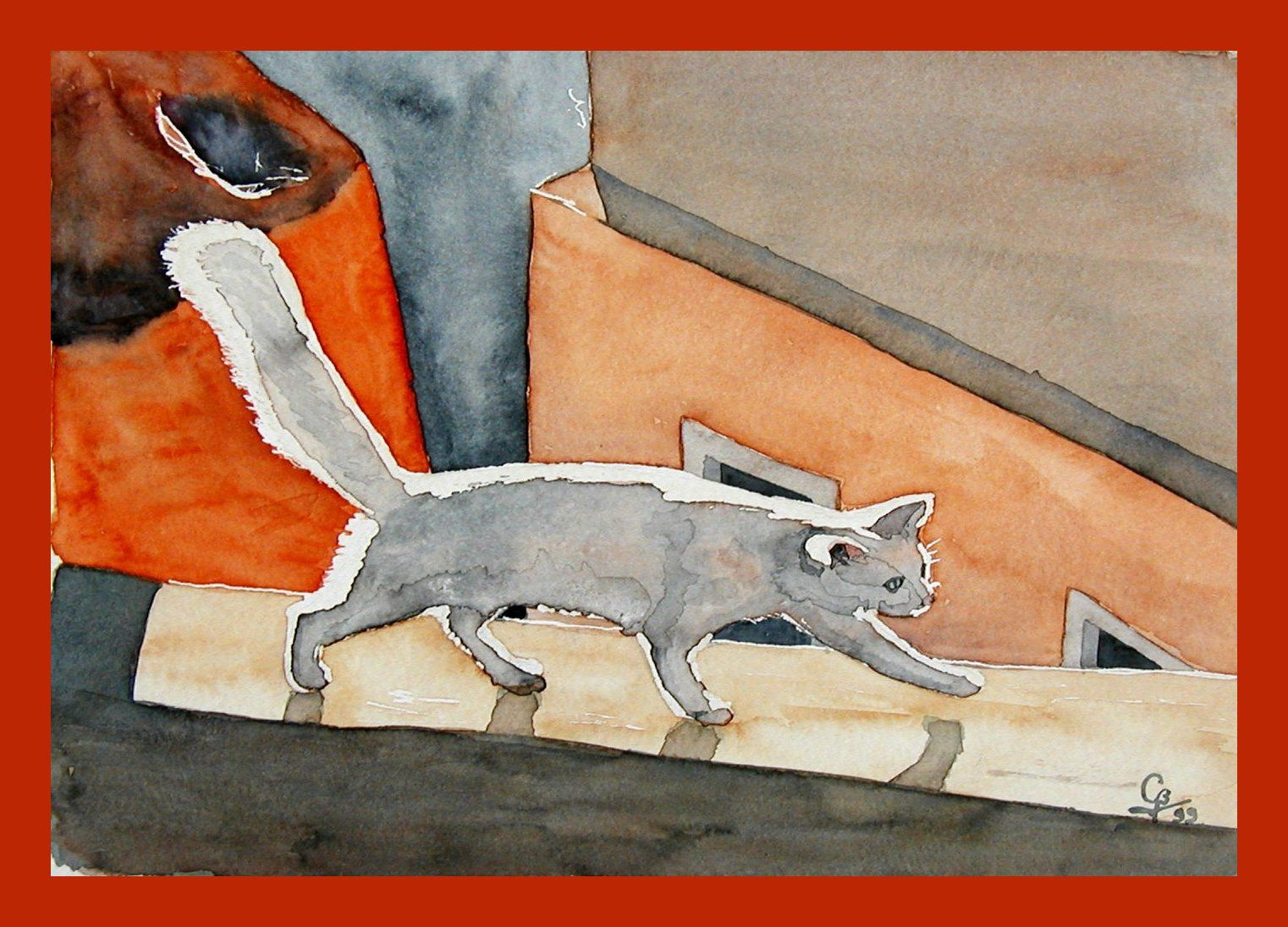 Chat_Claude_aquarelle