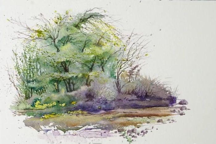 Peindre un paysage -  Steve Mitchell