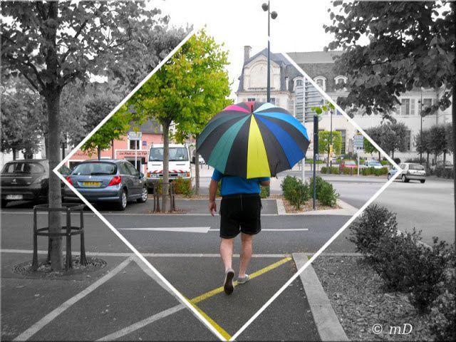 parapluie à Quimperlé_Marine_photo