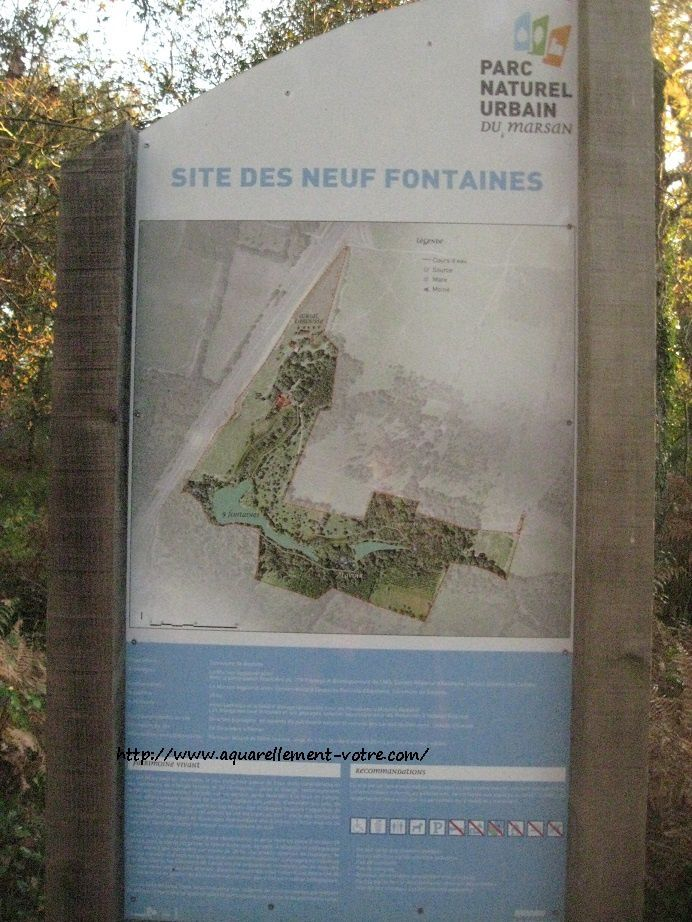 site des neuf fontaines