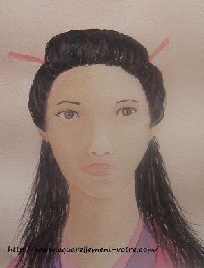 pas une geisha, mais ma japonaise de tous les jours