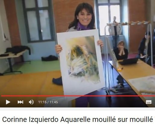 drapé de femme  - Corinne Izquierdo