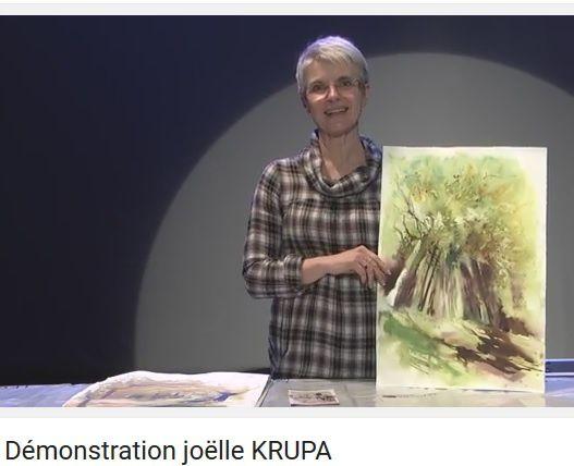 démo Joëlle Krupa-Astruc