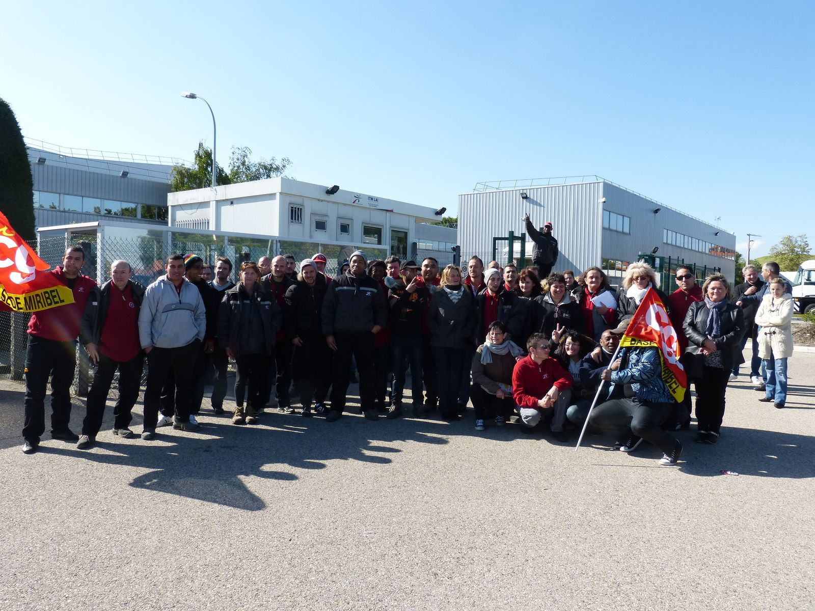 Grande réussite de la journée de grève à ITMLAI