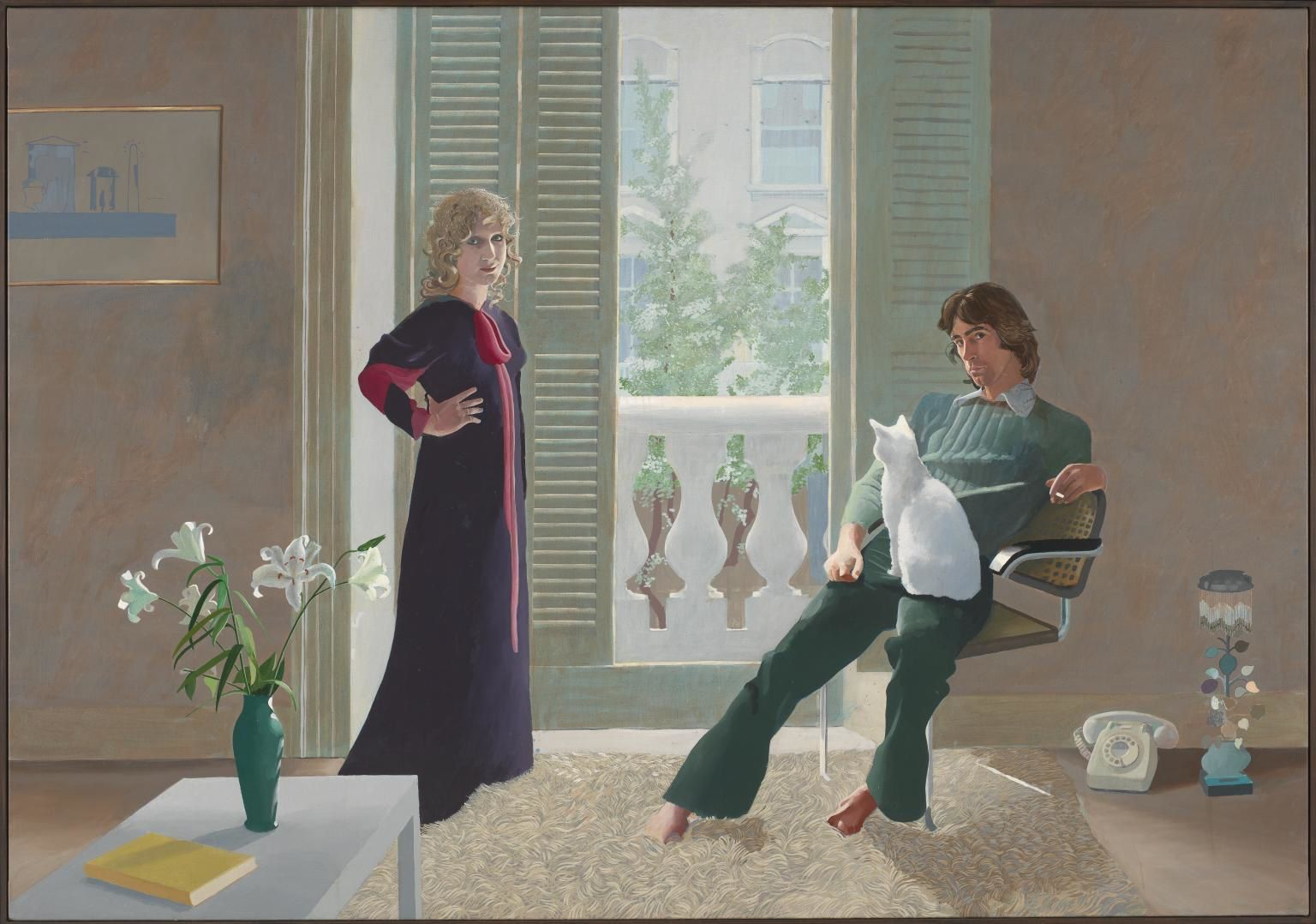 Mr & Mrs Clark and Percy, 1970-71, 213,5 X 305. Tate, Londres.
