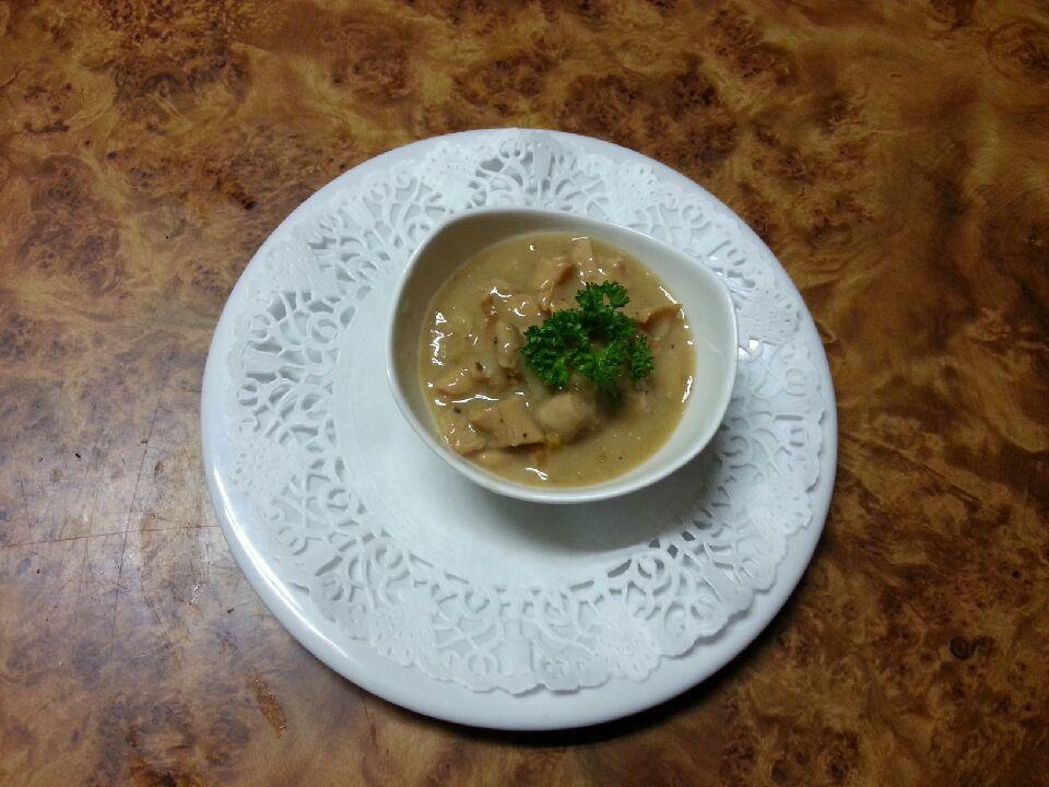Marbré Tête de Veau foie gras et fraise de Veau cuisinée à la Bretonne.