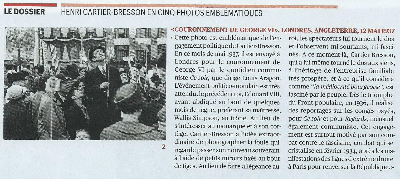 Plein cadre : Henri Cartier-Bresson