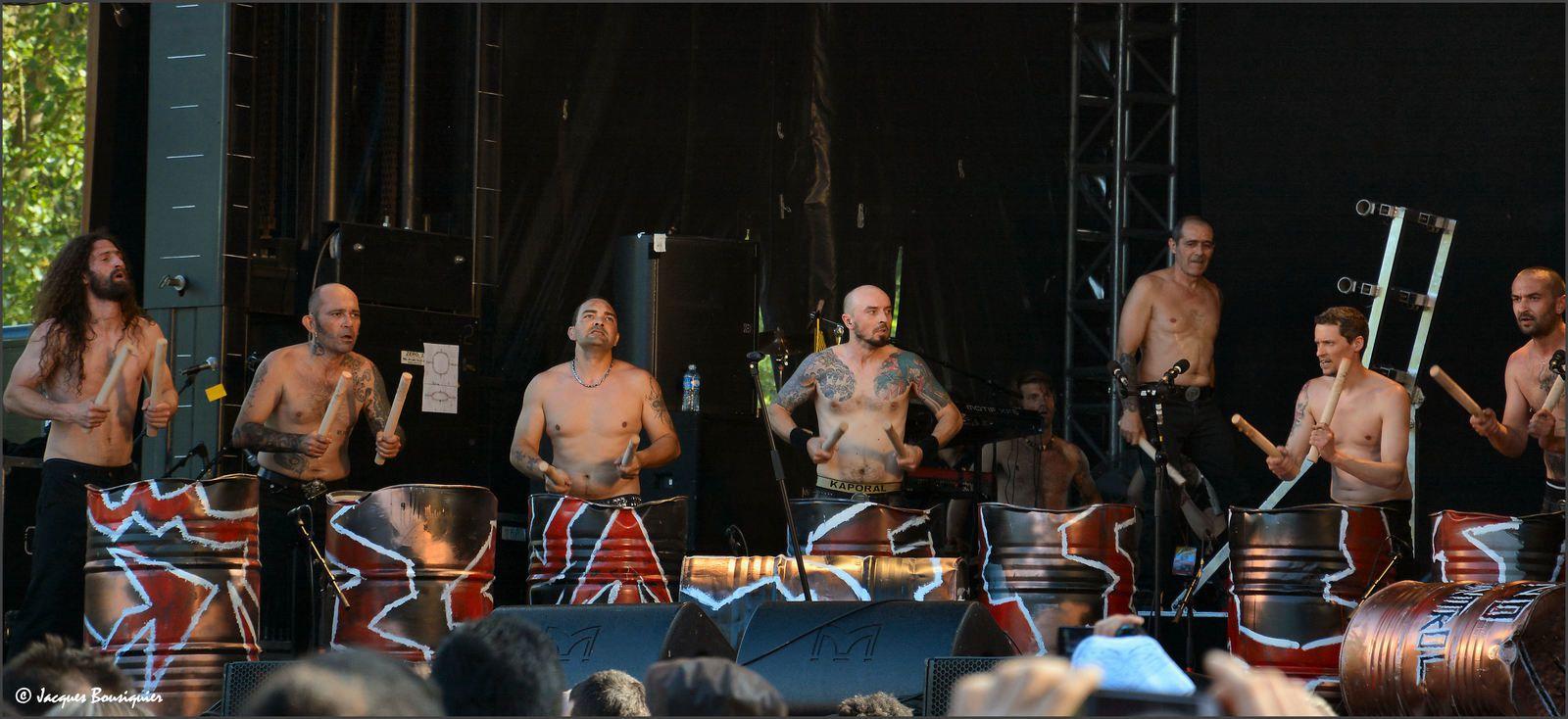 Les Tambours du Bronx à Creil