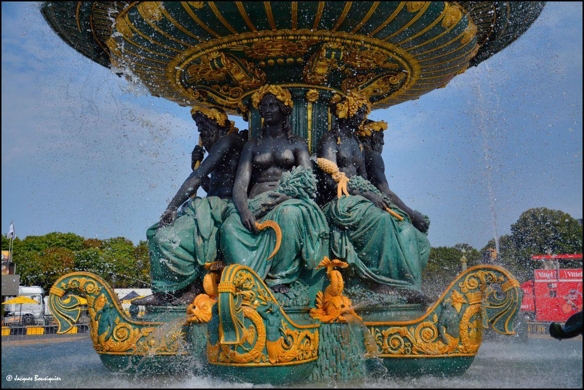 Que d'eau !... les fontaines de la Place de la Concorde
