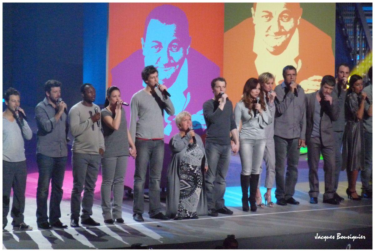 Les Enfoirés en chœur, ce soir, sur TF1 !