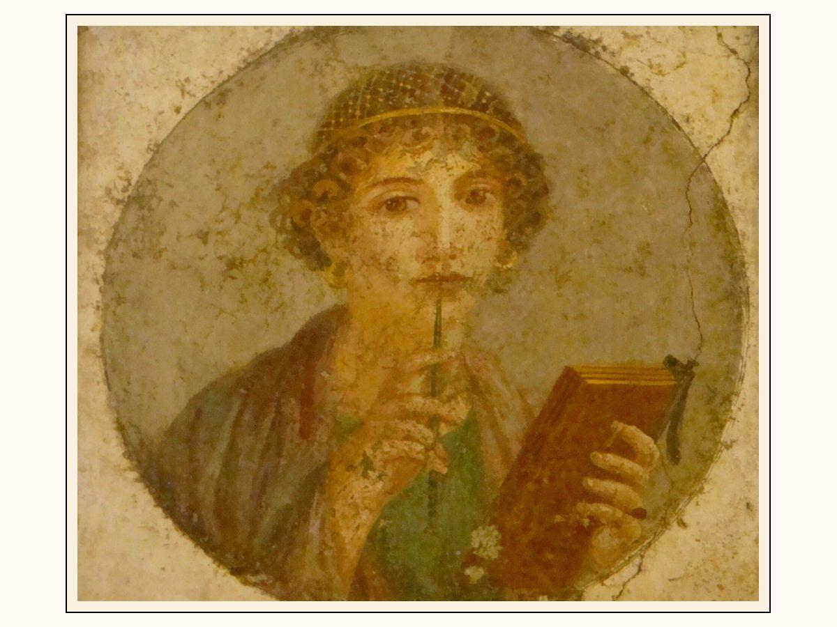 Sappho... la Maison des Mystères à Pompei