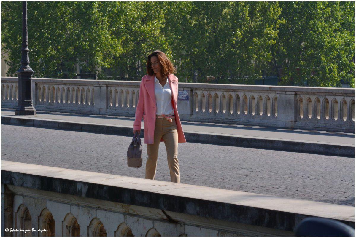 Journée de shooting photo ordinaire à Paris