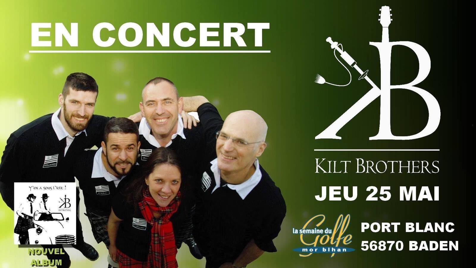 Les Kilt Brothers à Port-Blanc