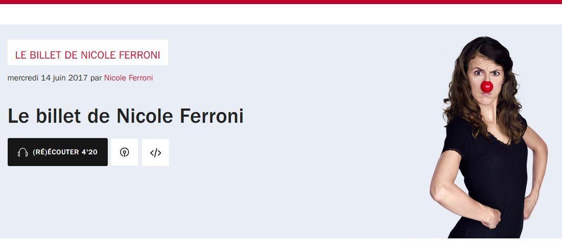 Nicole Ferroni : à fleur de mots