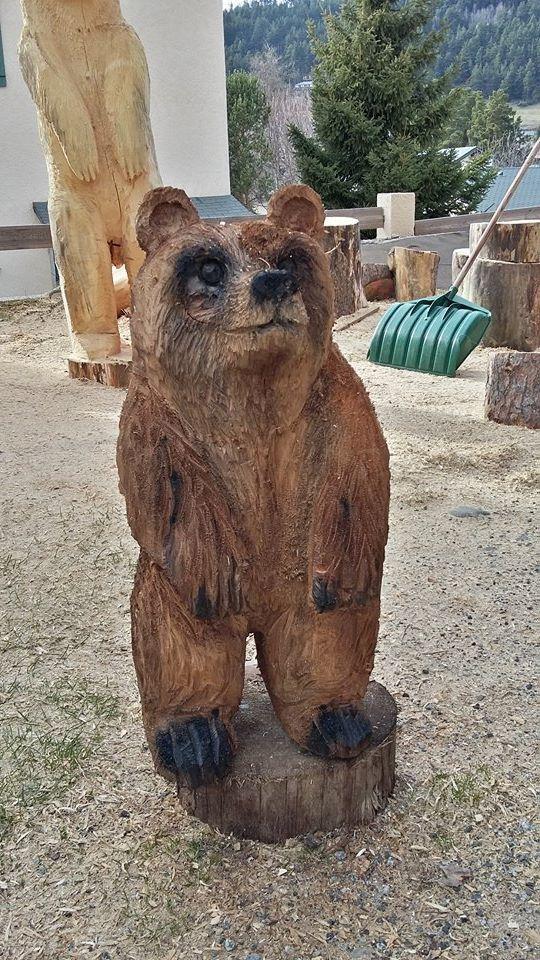 Créations Bois - Michel Founaud sculpteur sur bois Formigueres