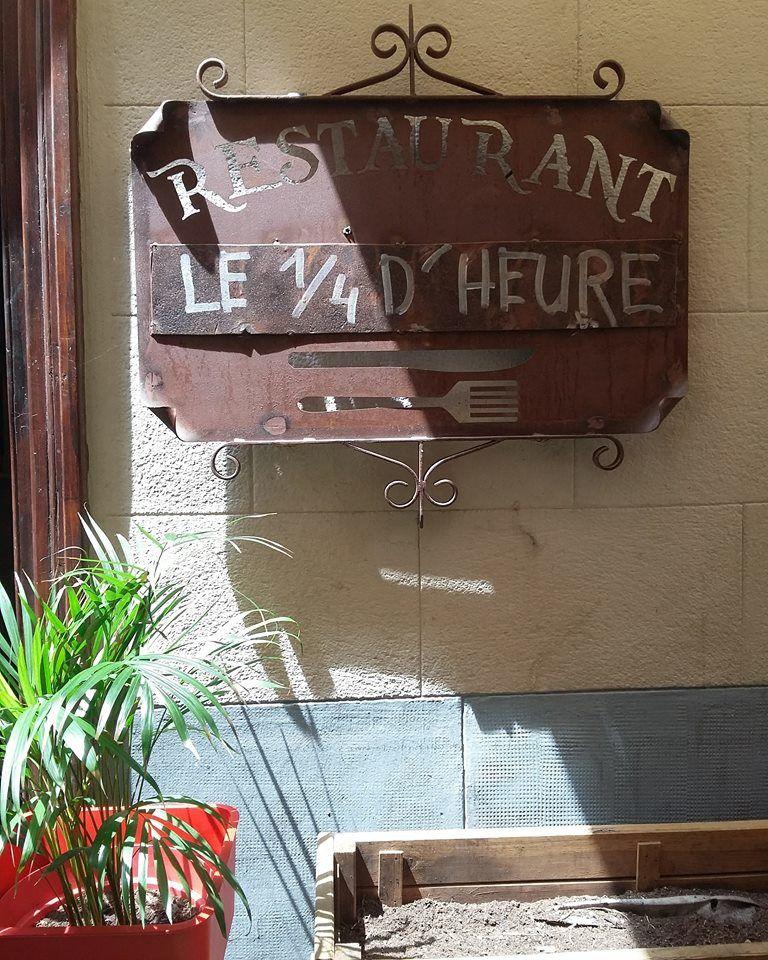 restaurant le quart d'heure à Perpignan