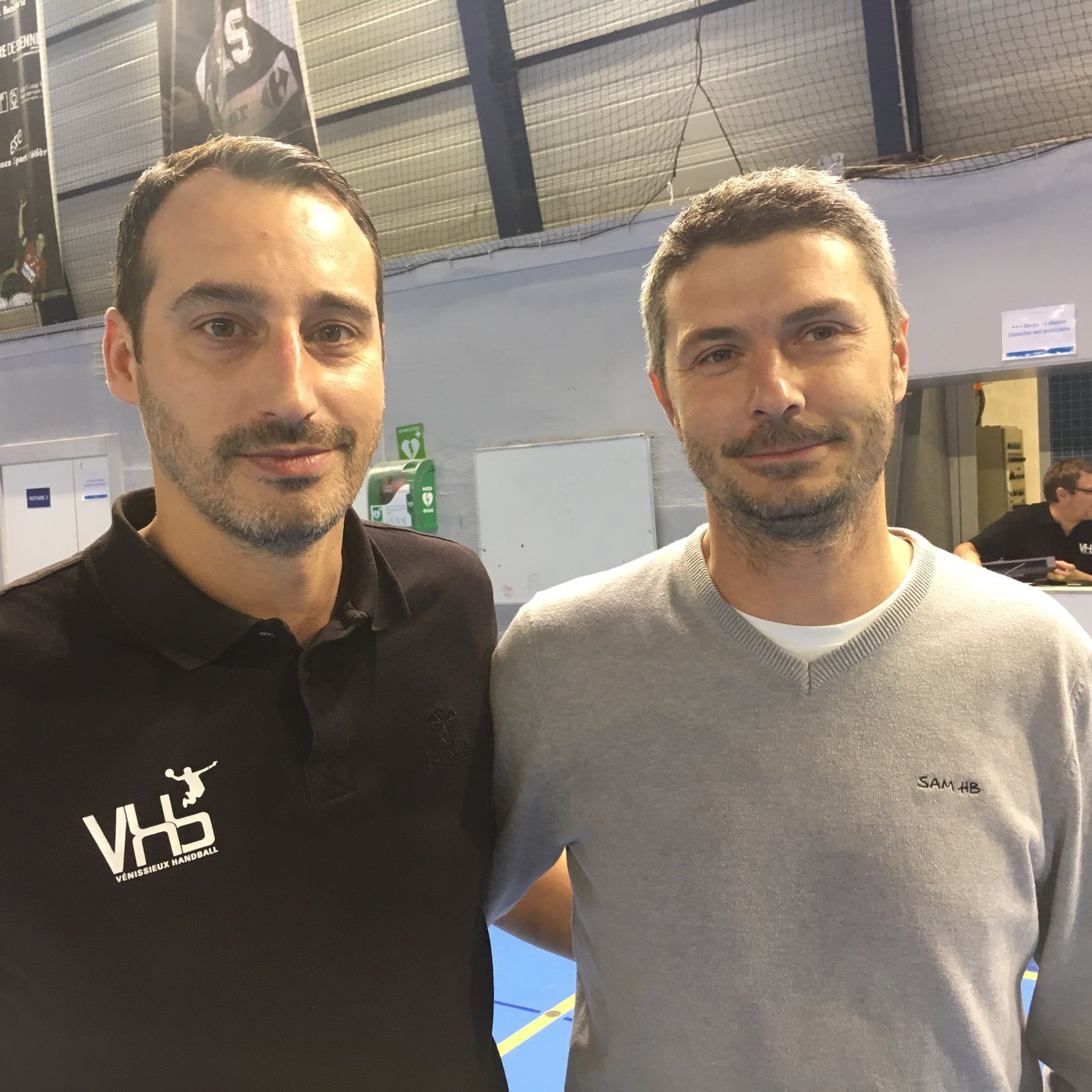 Olivier Odisio et Eric Forets
