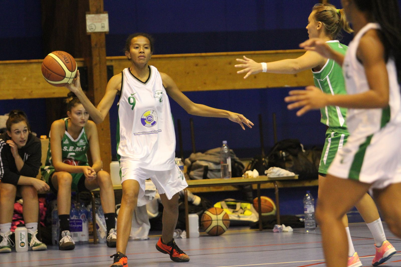 Ce dimanche les basketteuses de Parilly ont obtenu une victoire qui leur donne la seconde place au classement