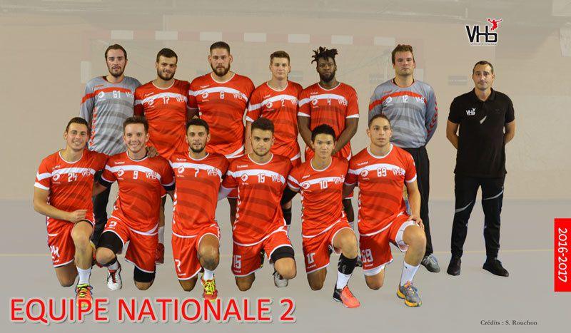 L'équipe de Nationale 2 - Photo : © Stephan Rouchon