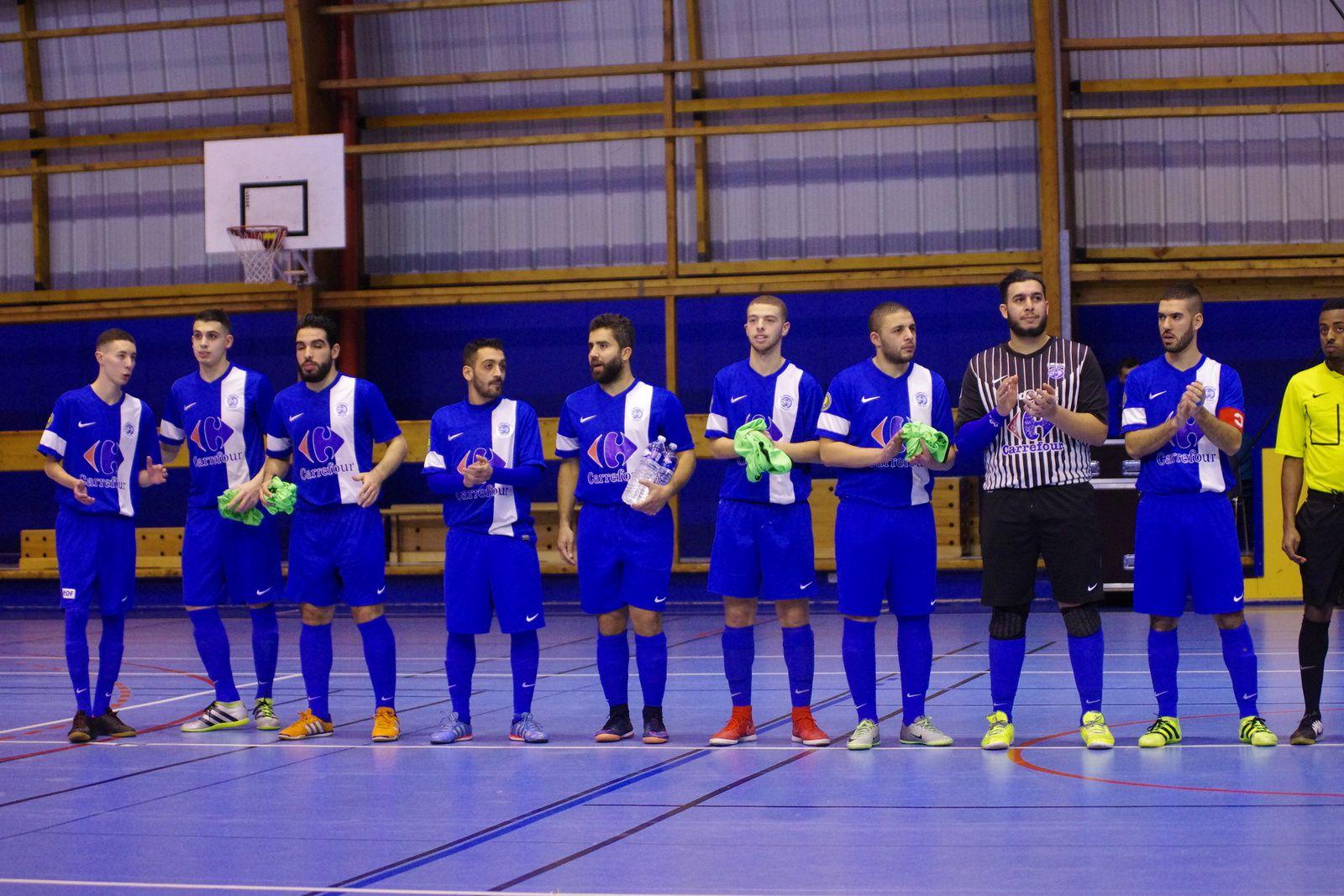 L'AS Vénissieux-Minguettes Futsal est en 16e de finale de la Coupe de France