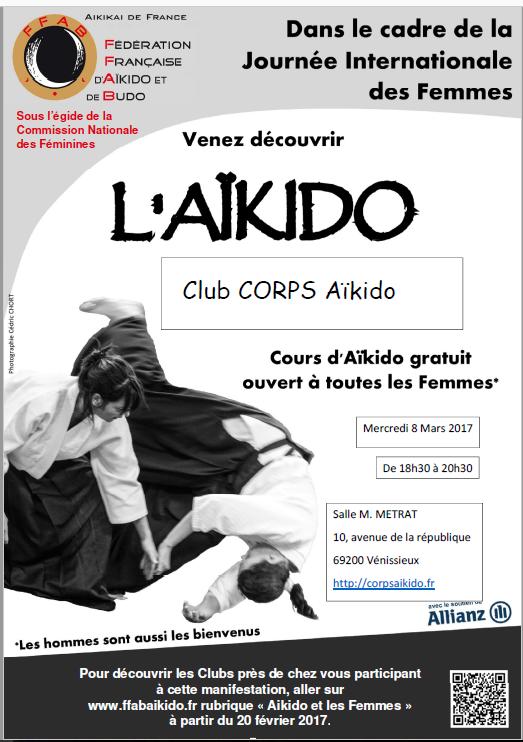Le Corps Aïkido informe