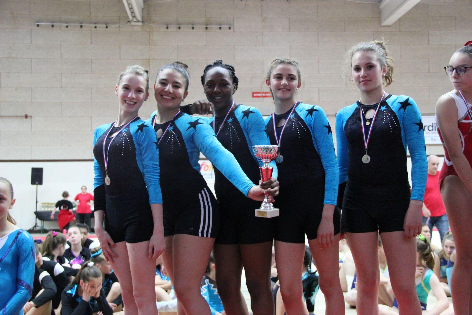 Belles performances des gymnastes du CMOV - Photos : @ CMOV Gym