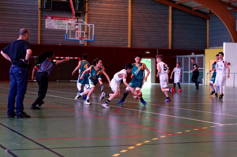 Les U13M sont devenus ce samedi champions du Rhône et Lyon Métropole en D1 - Photos : @ Comite du Rhône et de Lyon Métropole Basket et ALVP