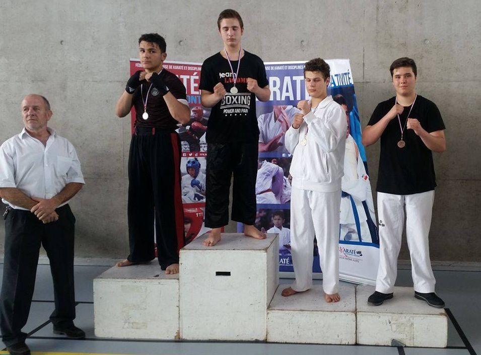 Le Bunkaï Karaté Do termine la saison en fanfare