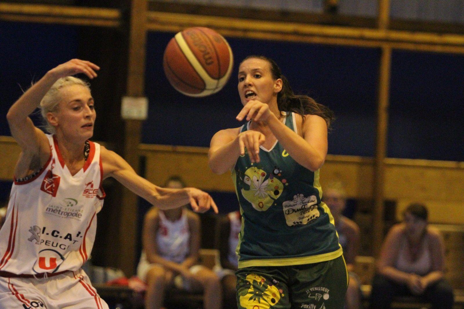 Les basketteuses venissianes se sont inclinées face à l'équipe de NF2 de Saint-Chamond