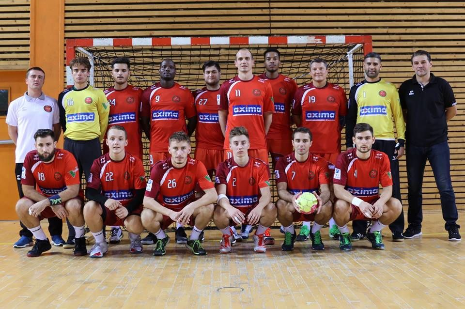 L'équipe fanion de Villefranche Handball Beaujolais - Photo : © DR