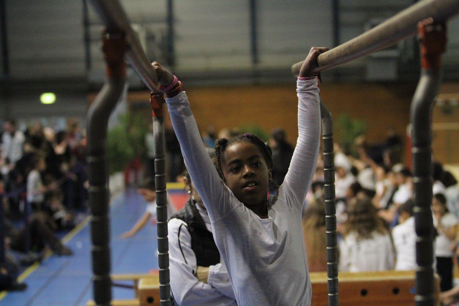 Des apprentis gymnastes performants