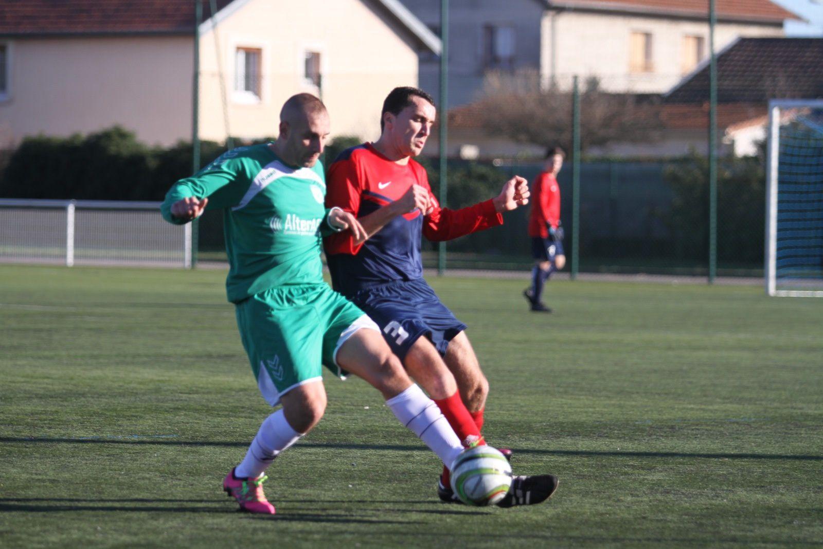 Les seniors (1) de l'US Vénissieux Football ont effectué une reprise de championnat satisfaisante