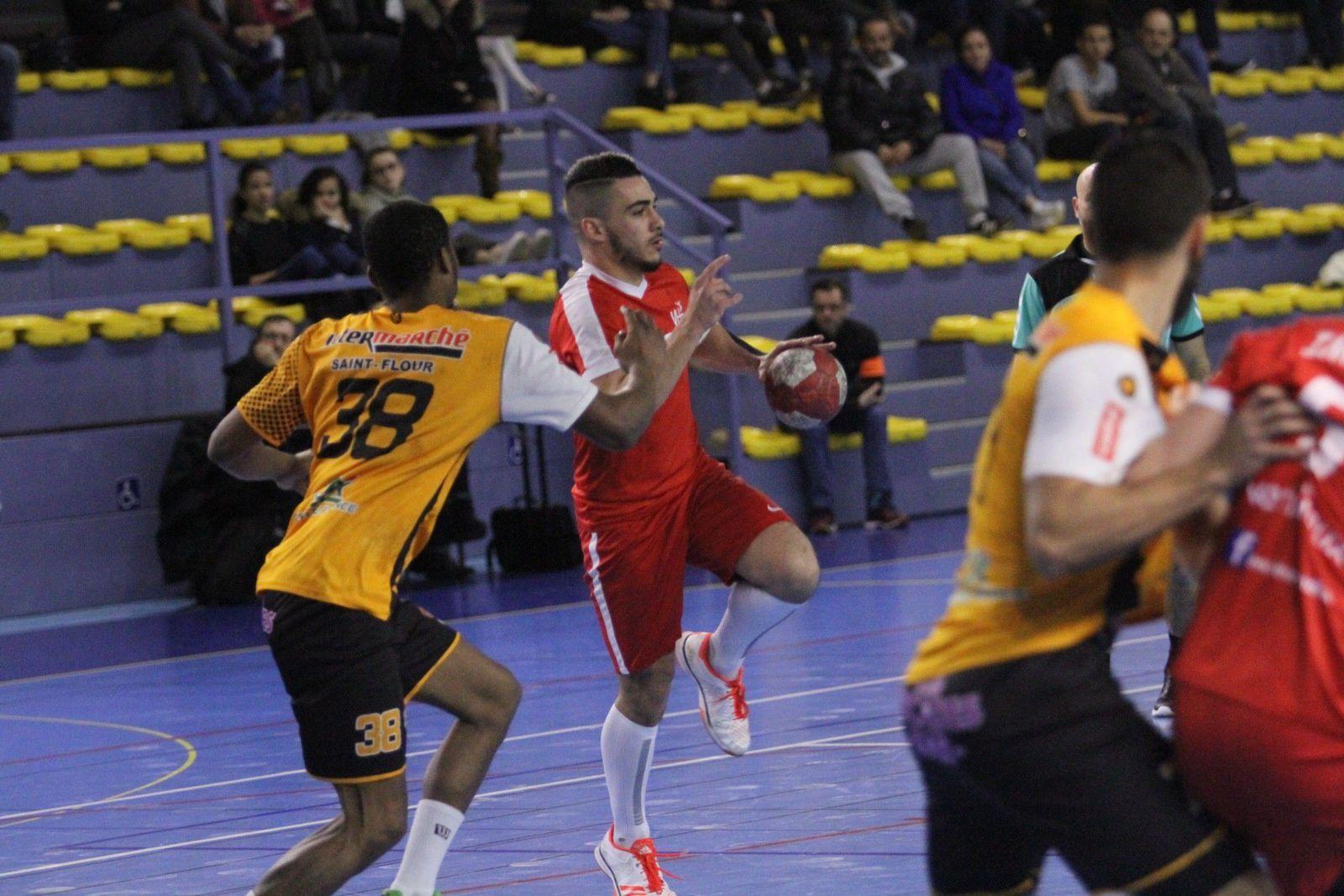 Vénissieux Handball s'est imposé logiquement face aux Auvergnats de Saint Flour